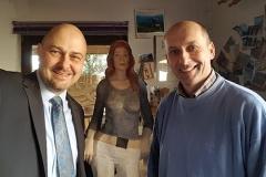 Besuch beim Künstler Rudi Bannwart