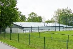 Neues Dach für die Sommer Festhalle
