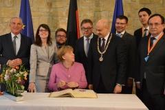 Besuch von Bundeskanzlerin Angela Merkel