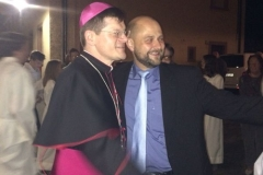 Erzbischof Bürger und Johannes Arnold