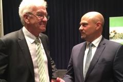 Im Gespräch mit dem Ministerpräsidenten Winfried Kretschmann