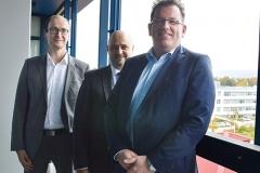 Unternehmensbesuch bei der Bruker Optik GmbH