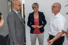 Unternehmensbesuch bei der RNT Rausch-GmbH im Juli 2018